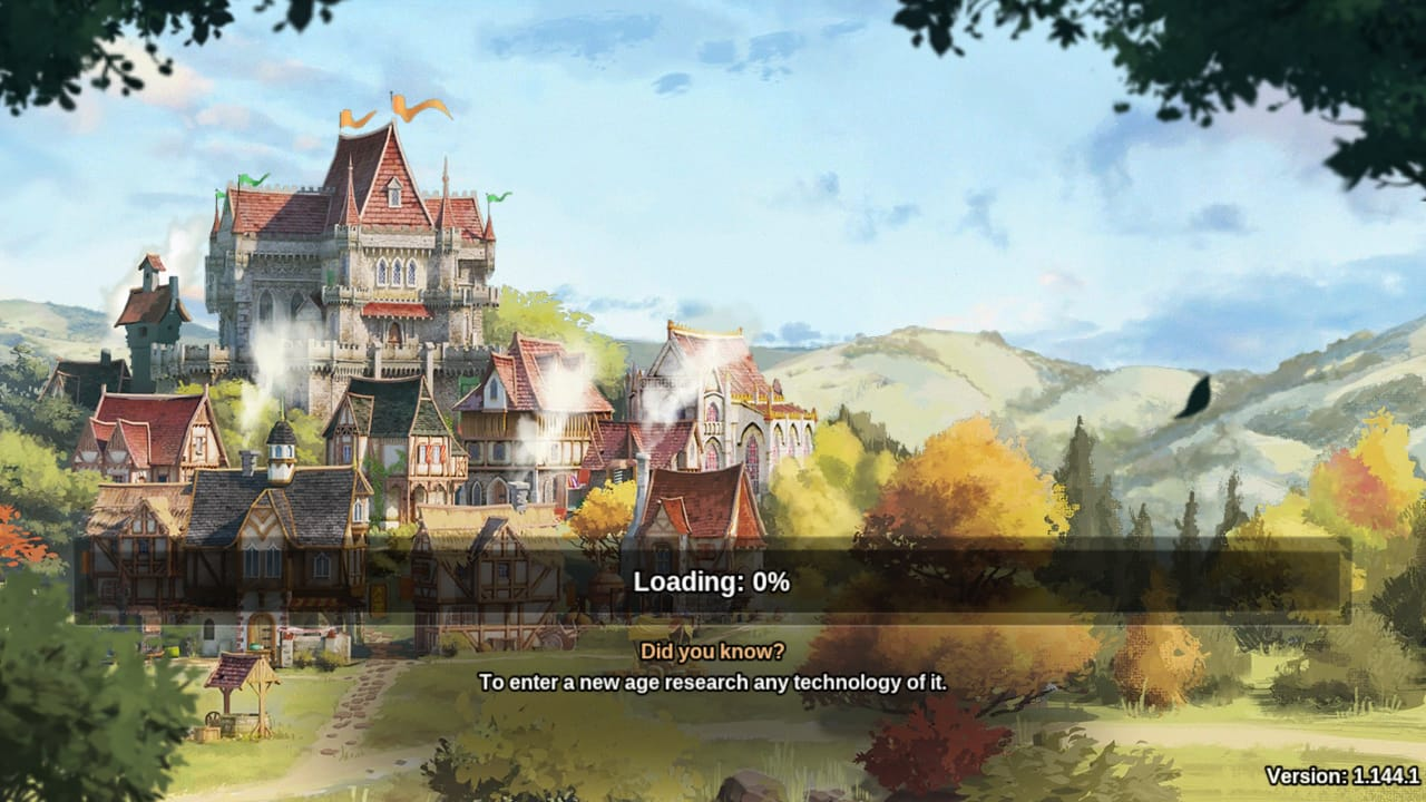 Forge of Empires mod APK loading