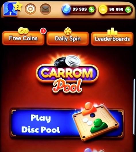 Carrom Pool Mod APK screenshot
